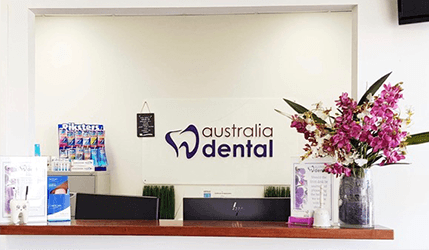 Australia Dental Burpengary Practice Reception